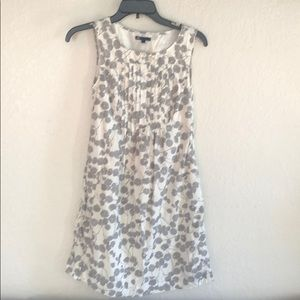 Gap bibbed sleeveless cotton Aline dress